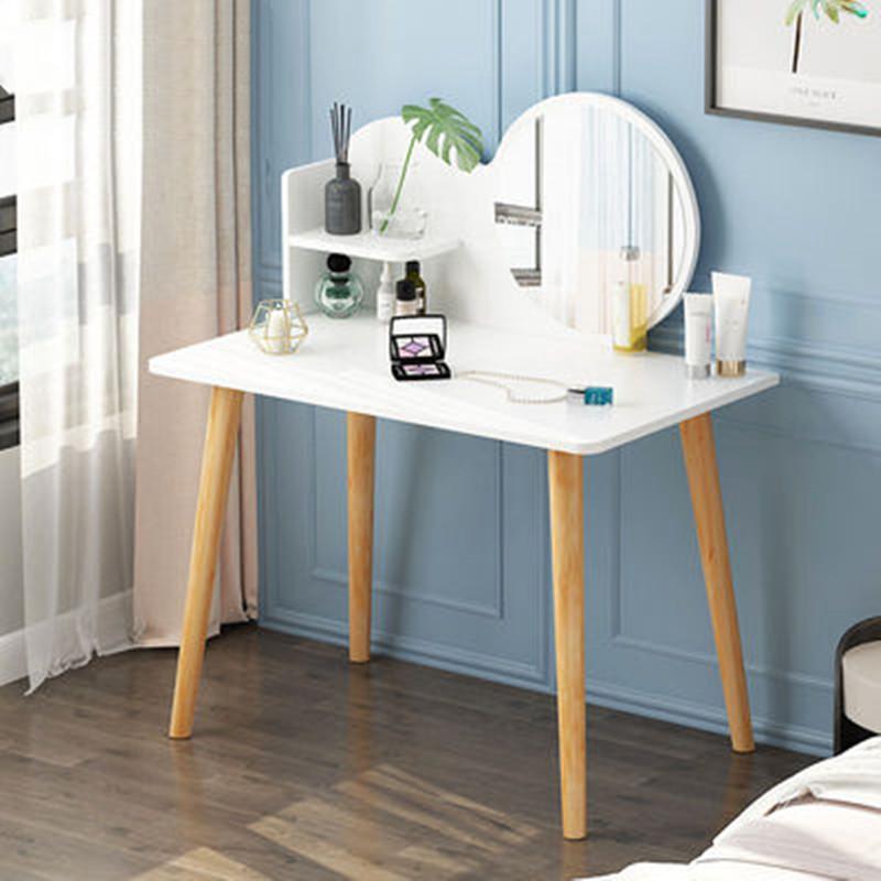 梳妆台书桌一体卧室现】代简约小户型北欧风ins网红化妆台化妆桌子