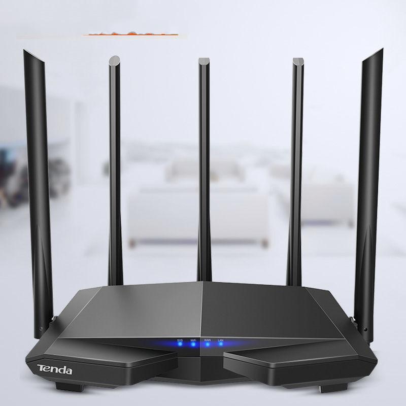 腾达1200M双千兆无线路由器家用增强穿墙王5G高速wifi信号放大器