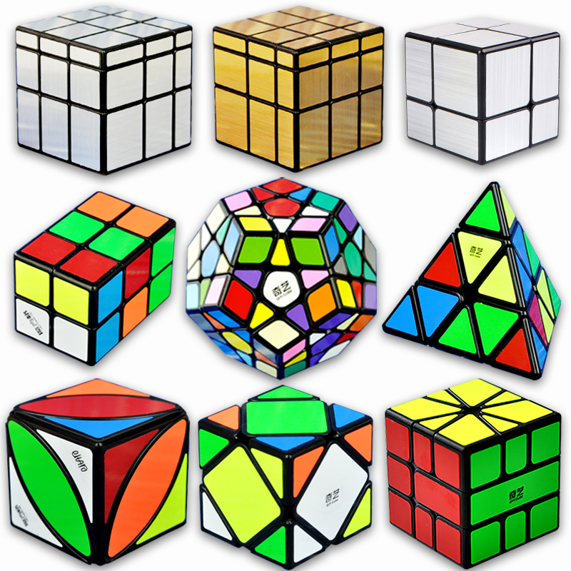 Pet Products Toys Puzzle Fun Rubiks Cube Special-shaped Oblique Second-order Cube Toy Rubiks Cube Colorful Home & Garden