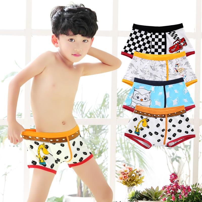 d7a8c6300e251 ... ملابس داخلية للأطفال الأولاد الملاكم القطن 10 تلاميذ أربعة زوايا 12  صغار الأطفال في المدرسة الثانوية ...