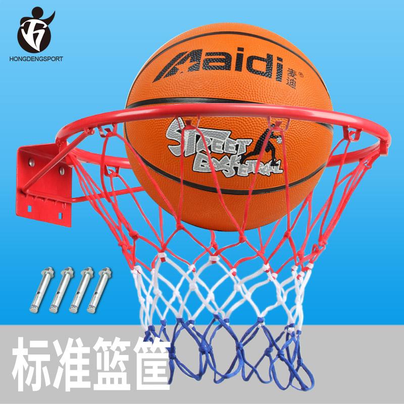 户外男孩架子框壁挂式青少年篮球架室内儿童投篮圈标准篮球运动