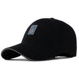 Шапка мужской корейская  версия Закрытая зимняя бейсбольная кепка для отдыха Спортивная шляпа солнца демисезонный Крышка с длинной шеей