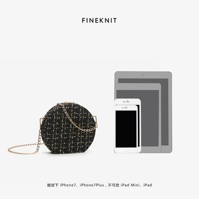 FINEKNIT mini messenger túi nhỏ 2020 làn sóng mới Phiên bản tiếng Hàn của chuỗi túi trẻ em hoang dã - Túi xách nữ