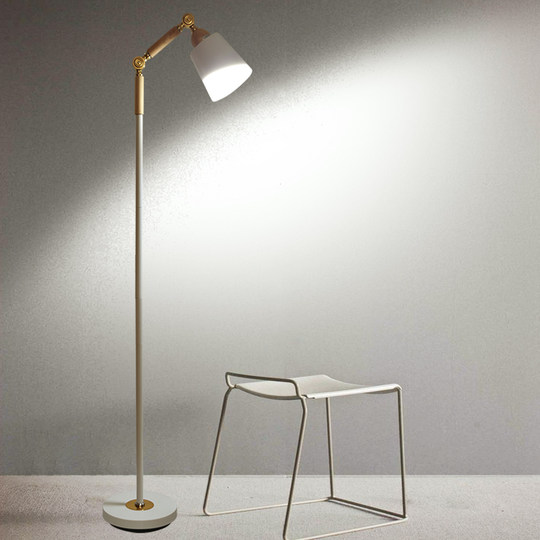 Honglang floor lamp simple modern Nordic style bedroom living room study creative LED floor lamp F1002