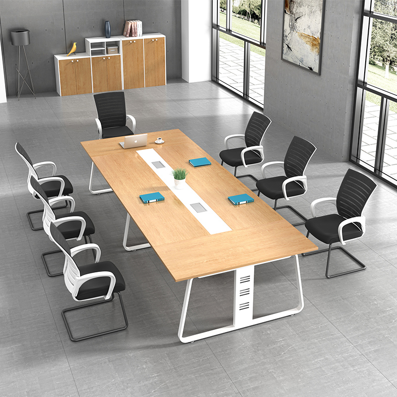 large and small conference table long table reception negotiation table and chair combination long table work - Small Conference Table