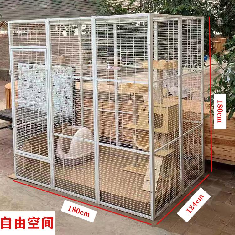 超大自由空间豪华猫别墅繁殖笼子猫咪狗鸽子繁育笼可拼接宠物围栏