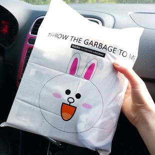车载垃圾袋一次性车上用品收纳袋