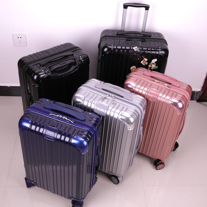 网红新款行李箱ins潮24寸26旅行箱包学生拉杆箱男 皮箱女密码箱子