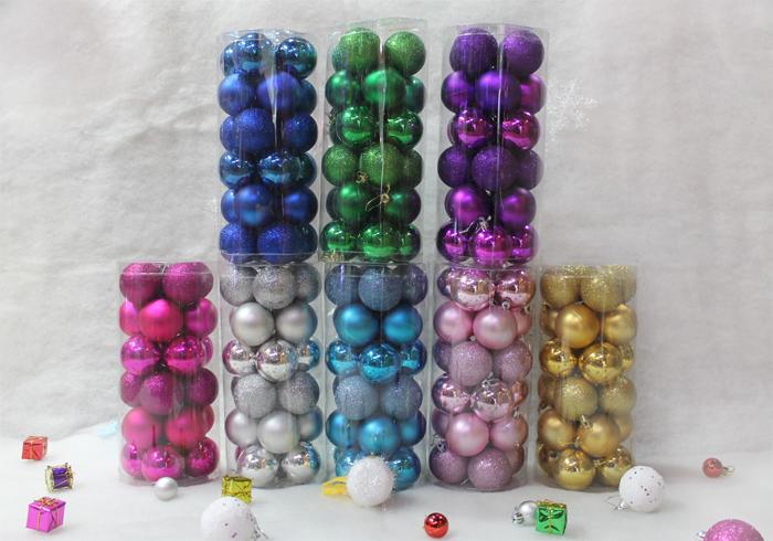 Новогодний подарок Шу Цзин Хуэй 8см набор шаров праздничные украшения Рождественский бал светлый шар Рождественский шар цвета Рождественская елка украшения поставок