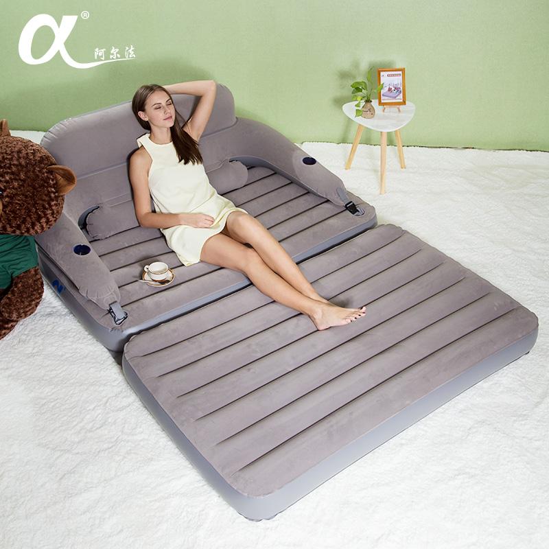 Аль франция газированный диван - кровать одноместный человек бездельник диван - кровать складные воздушная подушка кровать полдень остальные надувной подушка