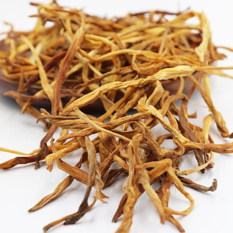 黃花菜干貨500g特產祁農家東散裝新鮮特級野生無硫金針菜干
