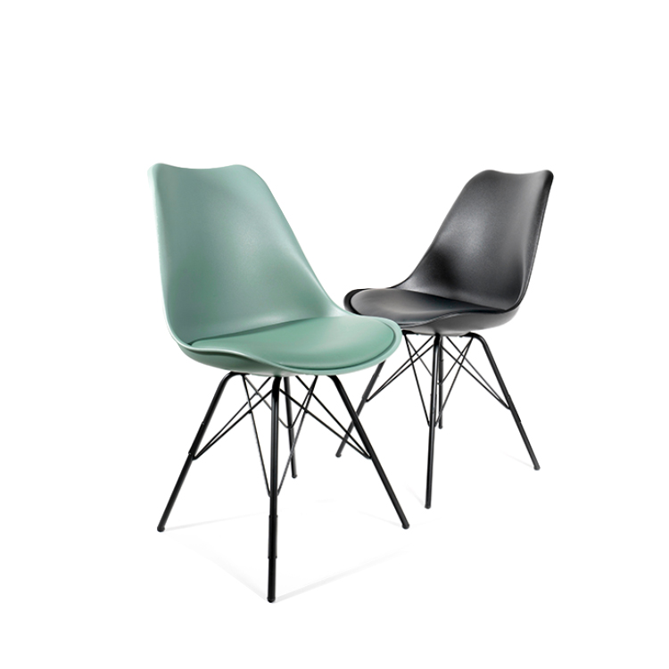 Usd house research duckbill chair dark green eames for Icon mobel eames