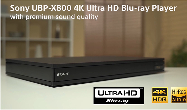 Sony UBP-X800 X700 X800M2 4K HDR Blu-ray 4K player