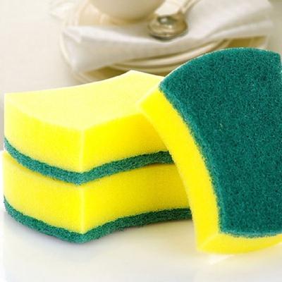 20块装 家务洗碗不粘油清洁海绵洗碗布海绵擦百洁布