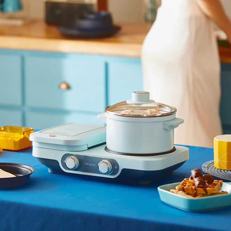 东菱三明治早餐机轻食机多功能家用三文治机小型定时华夫饼机神器