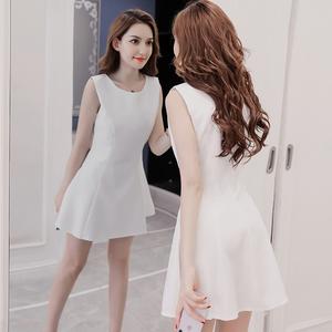 夏季女装2021新款洋气减龄连衣裙
