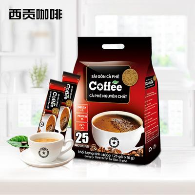越南进口原味咖啡25条400g
