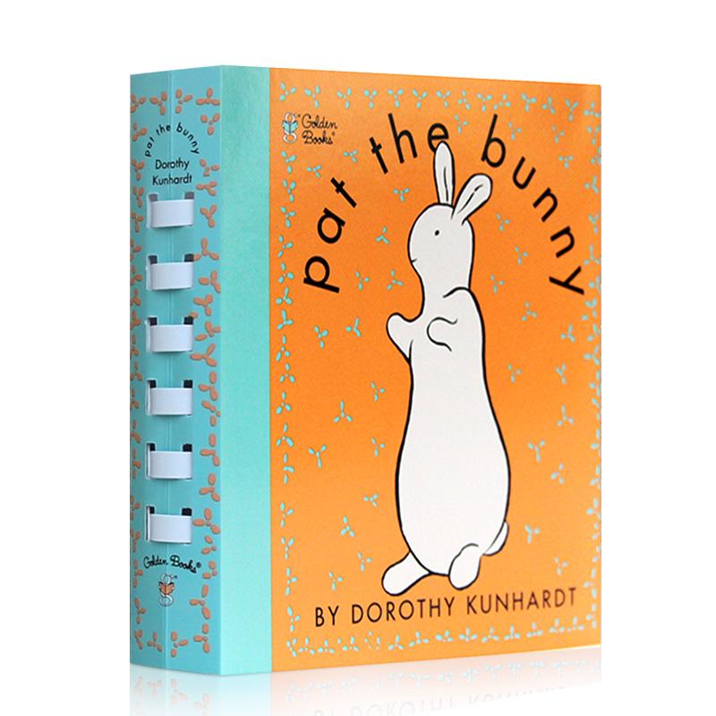 拍拍小兔子英文原版宝宝触摸书绘本