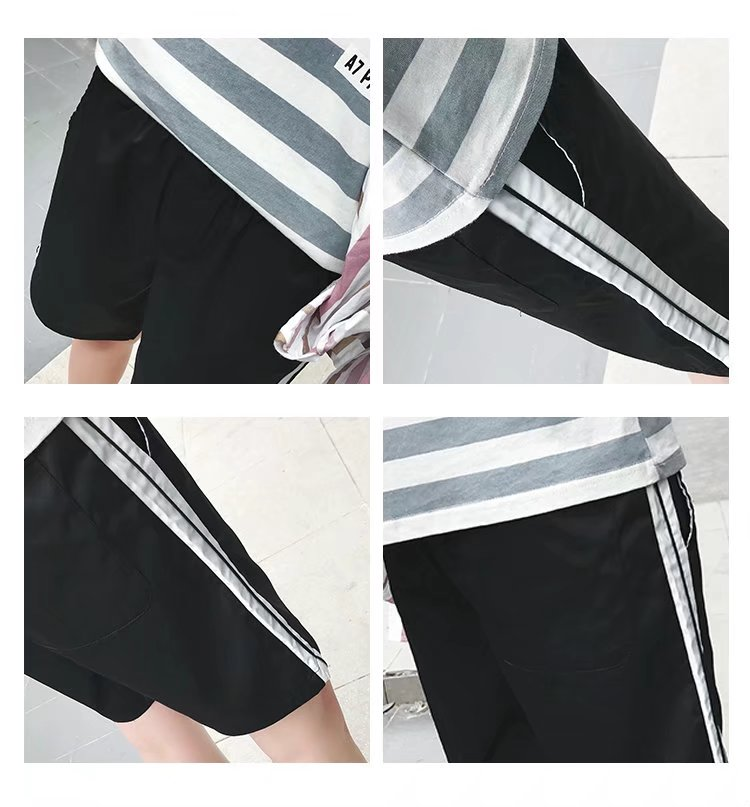 Mùa hè thanh niên thể thao quần lớn nam giới mặc sinh viên hoang dã lỏng quần short giản dị nửa nửa chân quần lớn