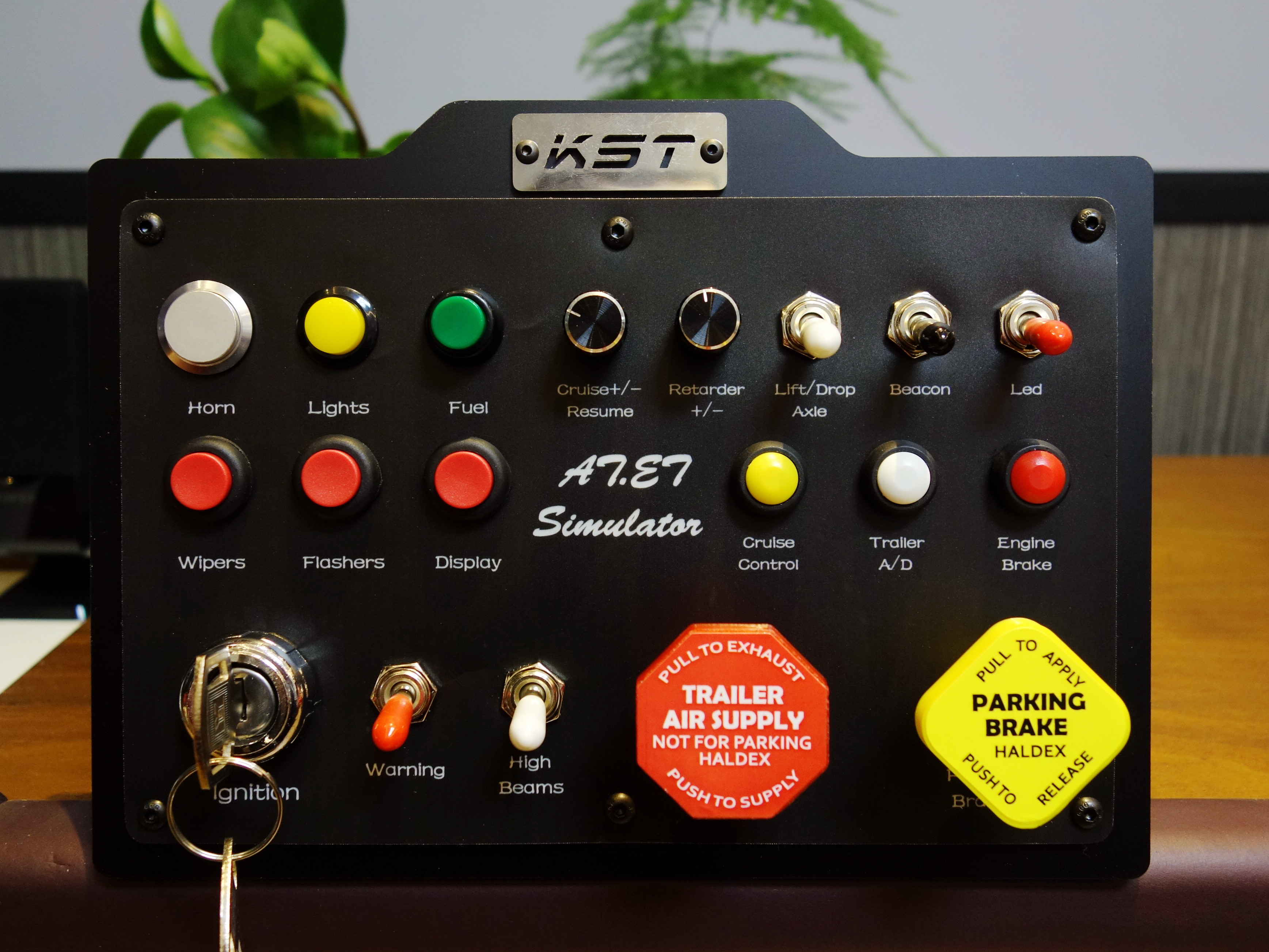 Kst sim racing box analog control truck
