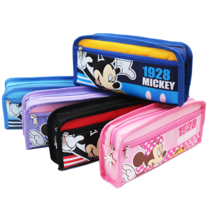 迪士尼笔袋大容量男女学生铅笔袋多层文具袋