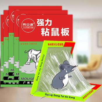 【贈5包綠茶抽紙】強力粘鼠板1張
