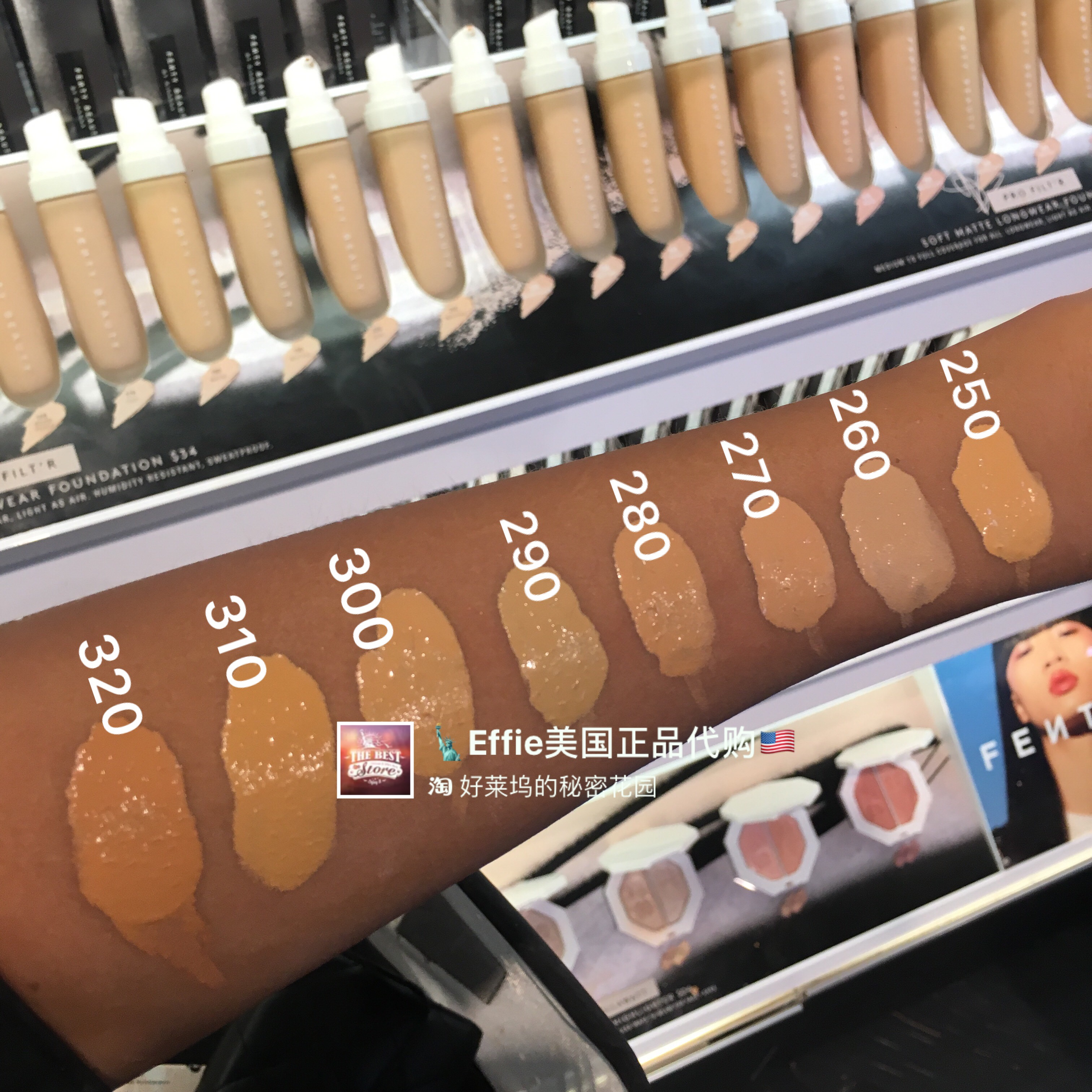 Usd 86 79 Genuine Spot Fenty Beauty By Rihanna Strong Concealer Oil Long Matte Foundation Wholesale From China Online Shopping Buy Asian Products Online From The Best Shoping Agent Chinahao Com