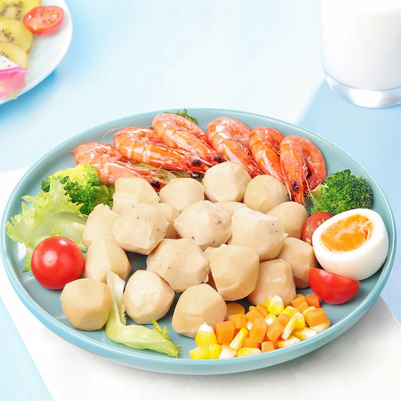 【宋大房】开袋即食低脂鸡肉丸15g*20袋