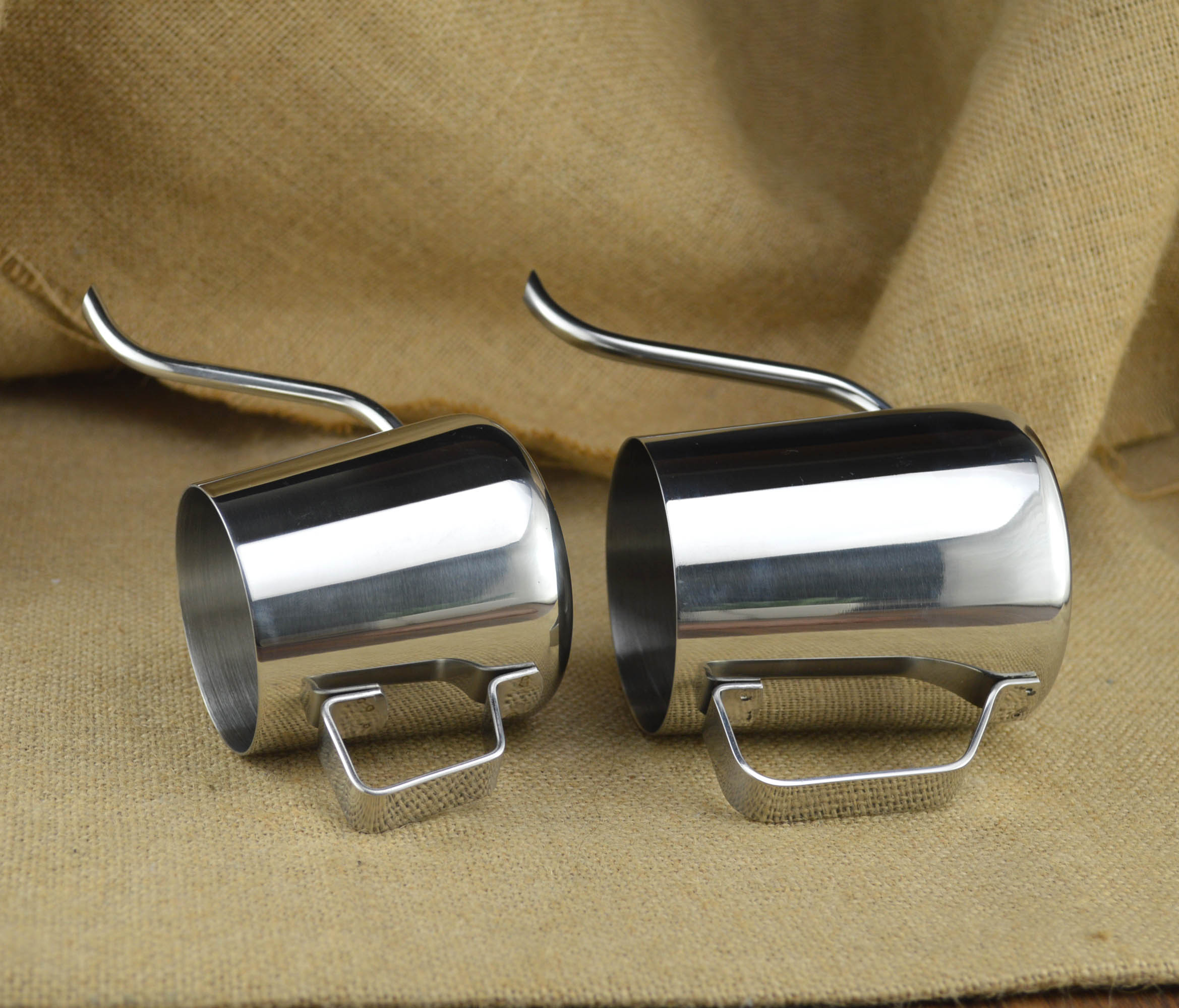 【免運】手沖咖啡壺家用小型迷你細口壺304不銹鋼掛耳長嘴手沖壺套裝美式 QFRX58925