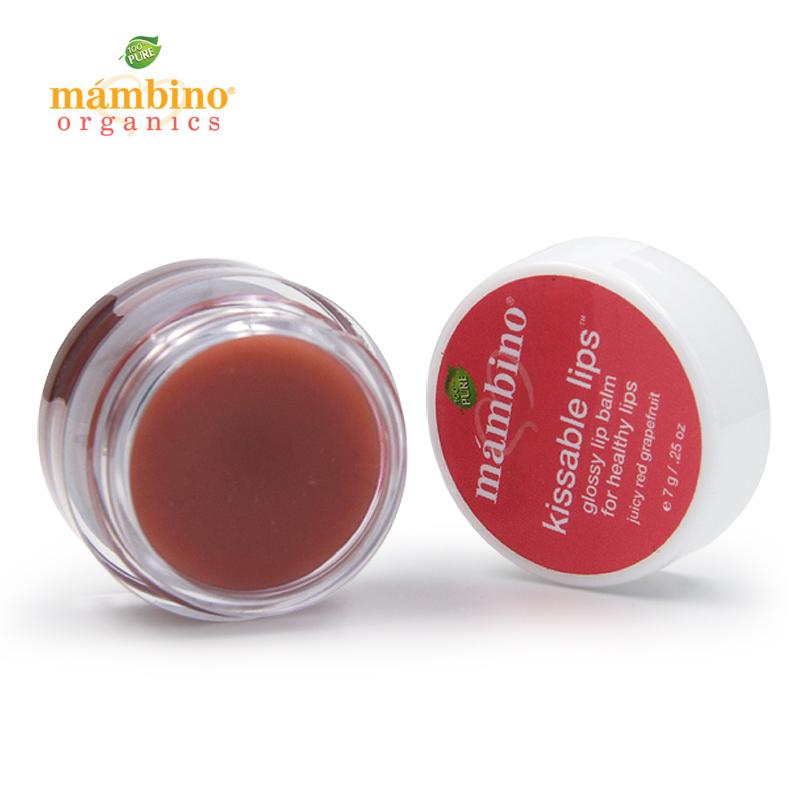 美国mambino玛贝诺有机防裂滋润保湿修复婴幼儿孕妇润唇膏可食用