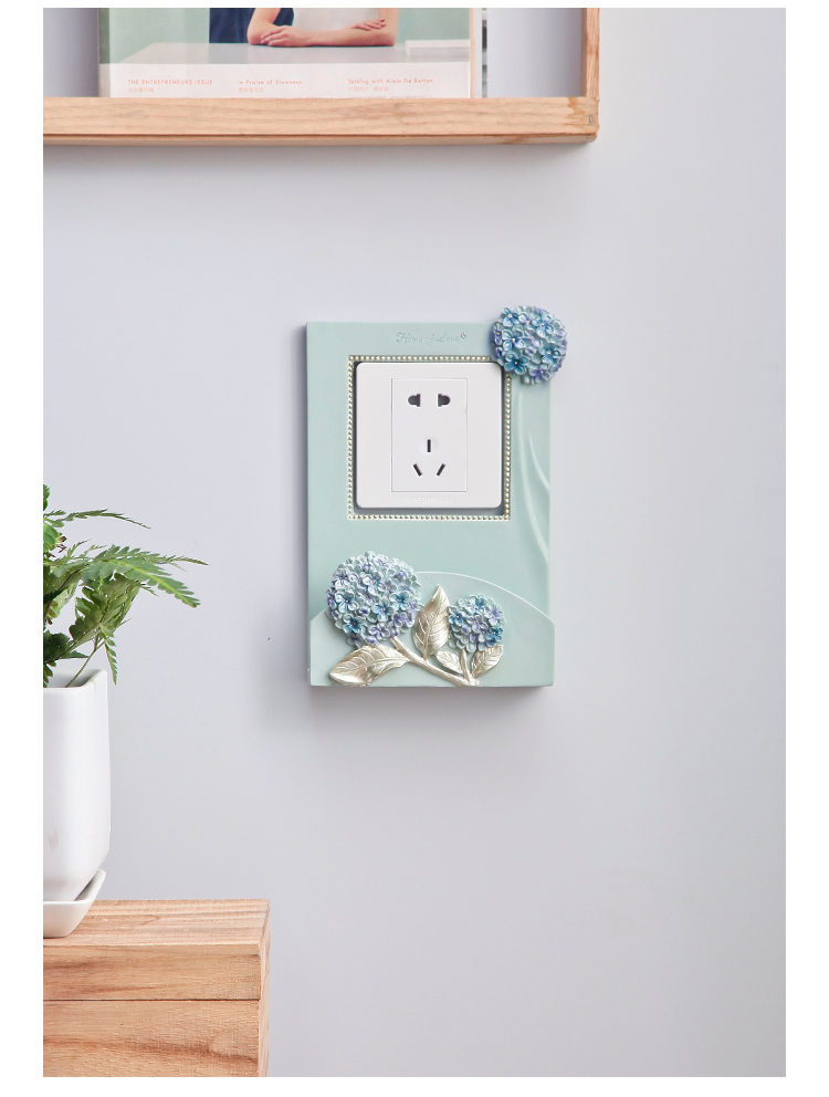 European Light Switch Stickers Wall Stickers Can Be Placed Mobile