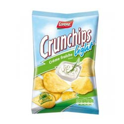 Lorenz Crunchips Light Creme Fraiche  [656330]