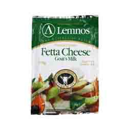 Lemnos Fetta Cheese Goat's Milk<000403>