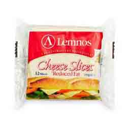 Lemnos Cheese Slices Reduced Fat<002124>