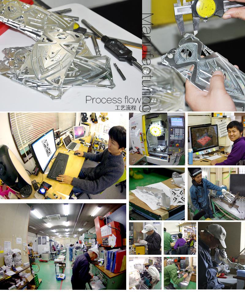 SIMON THOR Aviation Aluminum Alloy Shockproof Armor Metal Case Cover for OPPO A77 / OPPO F3