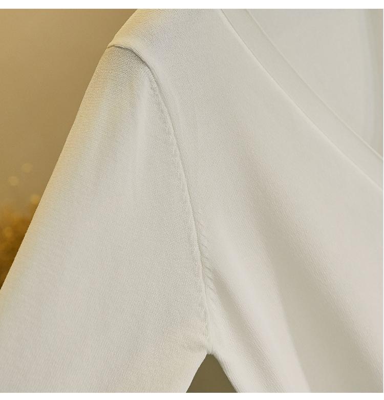 针织开衫小外套女春秋配裙子的毛衣短款上衣旗袍外搭韩版新款详细照片