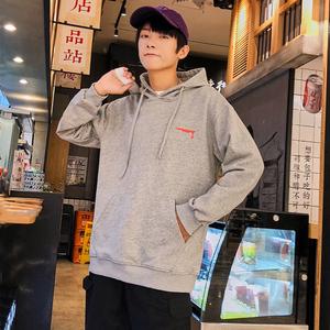 秋季新款卫衣男连帽韩版潮流运动外套有大码