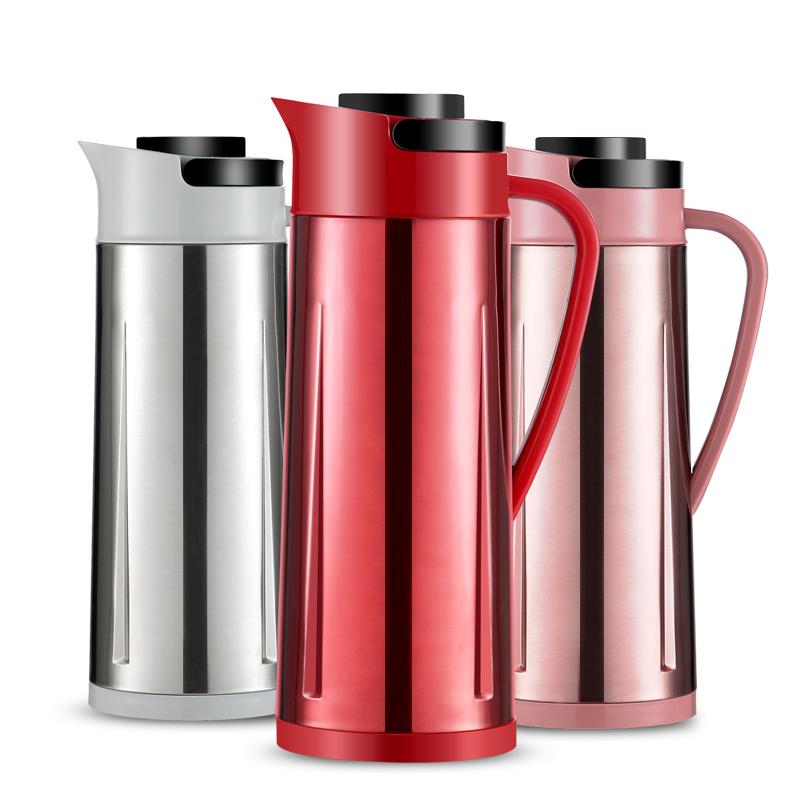 沃米保温壶家用不锈钢热水瓶大容量开水瓶学生用宿舍暖壶保温水壶