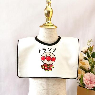 韩版ins口水巾婴儿围兜宝宝围嘴纯棉方形造型加大围兜饭兜防吐奶