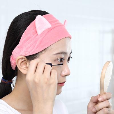 景甜同款 可爱洗漱发带发套敷面膜束发带洗脸用的发箍女头饰