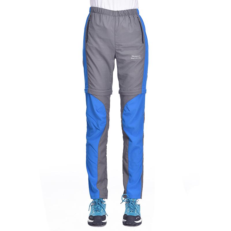 外速干裤两截男女款春夏季运动修身