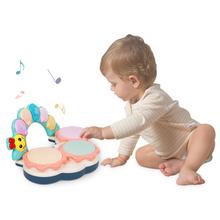 贝恩施宝宝手拍鼓 儿童声光玩具  益智婴儿拍拍鼓0-1岁 6-12个月