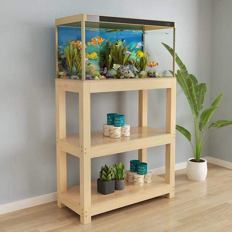 Fish Tank Cabinet Aquarium Shelf