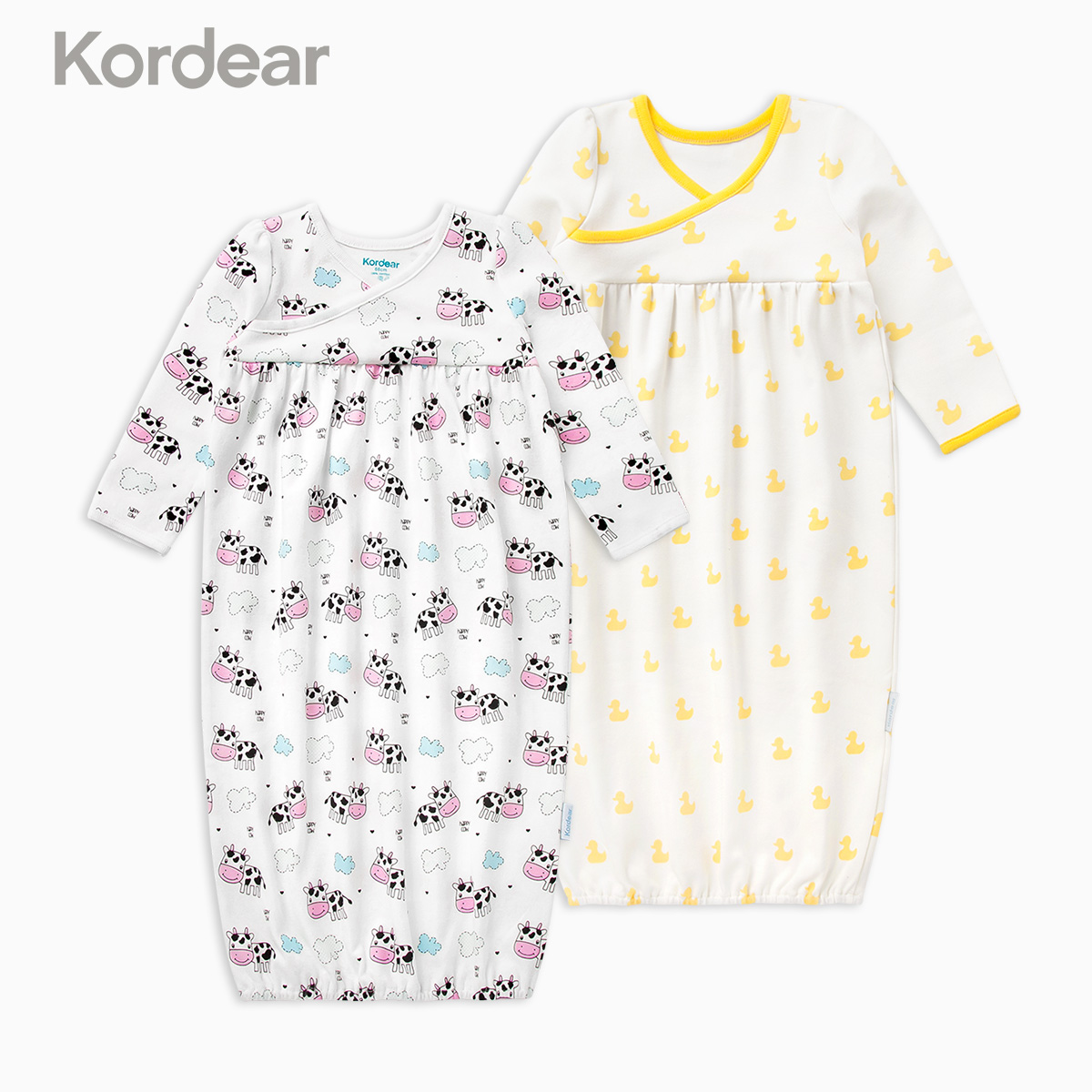 USD 47.43] Baby nightgown summer thin section 1 year old 3 newborn ...