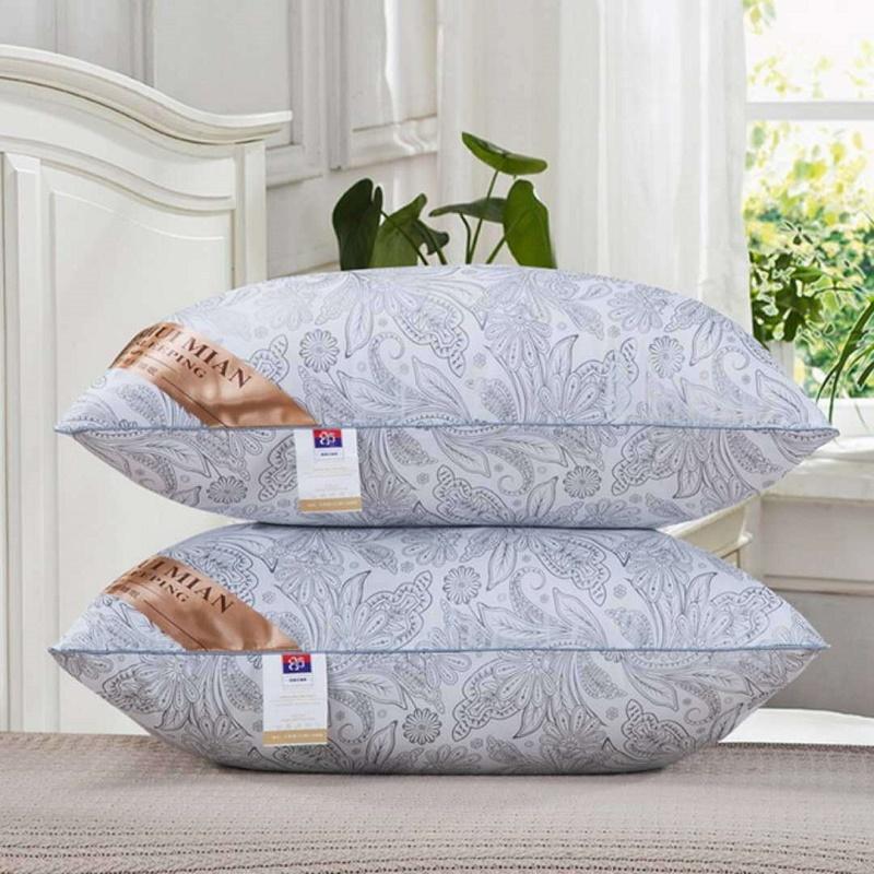 酒店枕头芯送枕套枕芯一对装可水洗成人单人枕头学生家用枕头套装