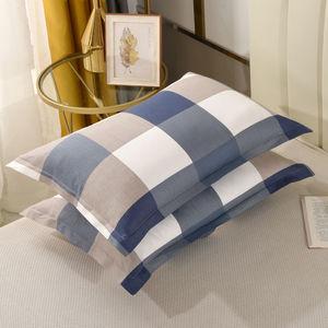 枕套一对纯棉情侣全棉枕芯套