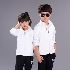 秋季时尚新款韩版童装中大童运动服套装两件套