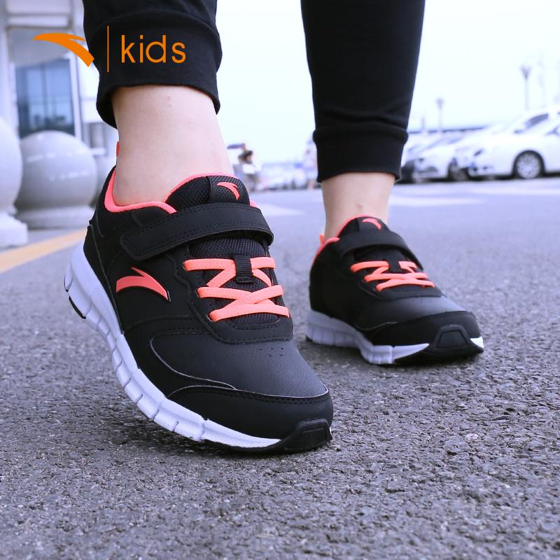 安踏童鞋儿童运动鞋2018秋冬季新款跑步鞋女童男童鞋休闲鞋子