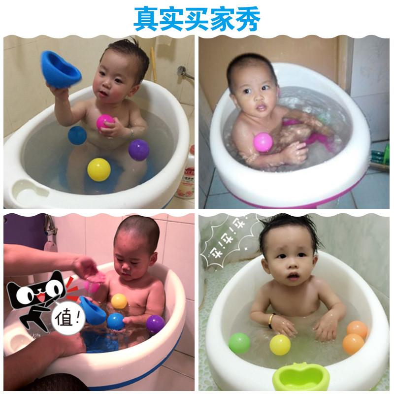 USD 65.55] Baby bathtub baby bath basin baby bath barrel children ...