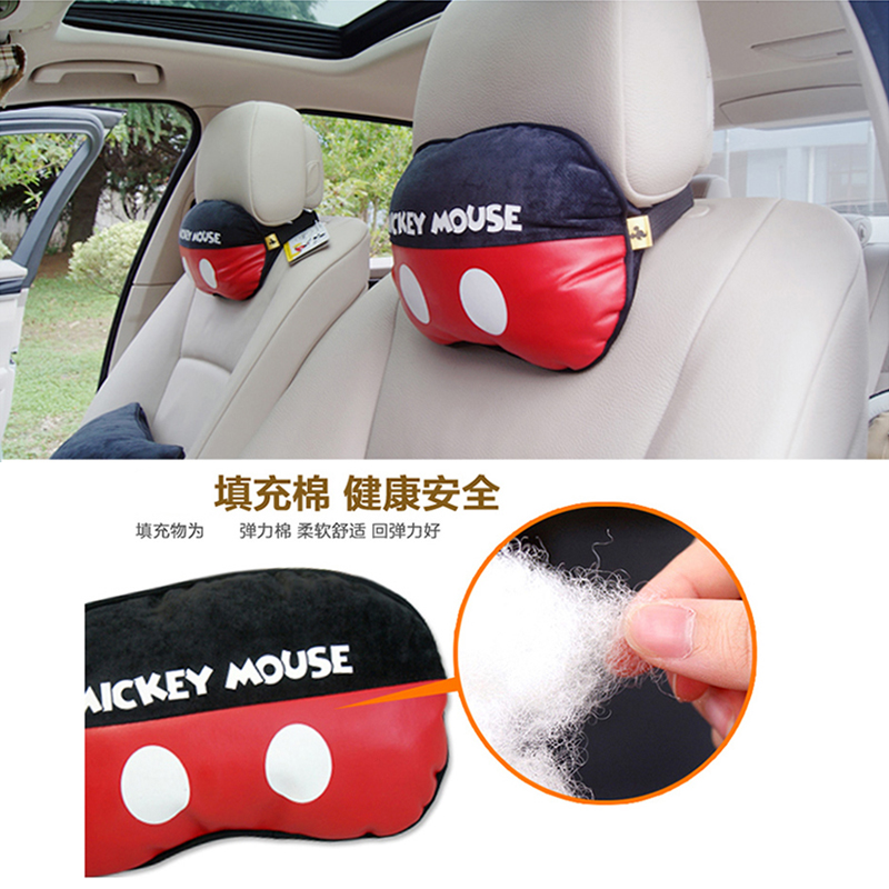 mickey car pillow neck pillow car headrest pair cute car pillow neck pillow neck pillow waist pillow hip pillow www letbuychina com buy china shop at wholesale price by online english taobao